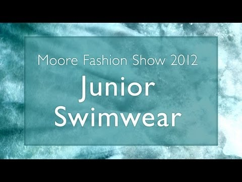 2 - Junior Swimwear // 2012 Moore Fashion Show // Breaking Away