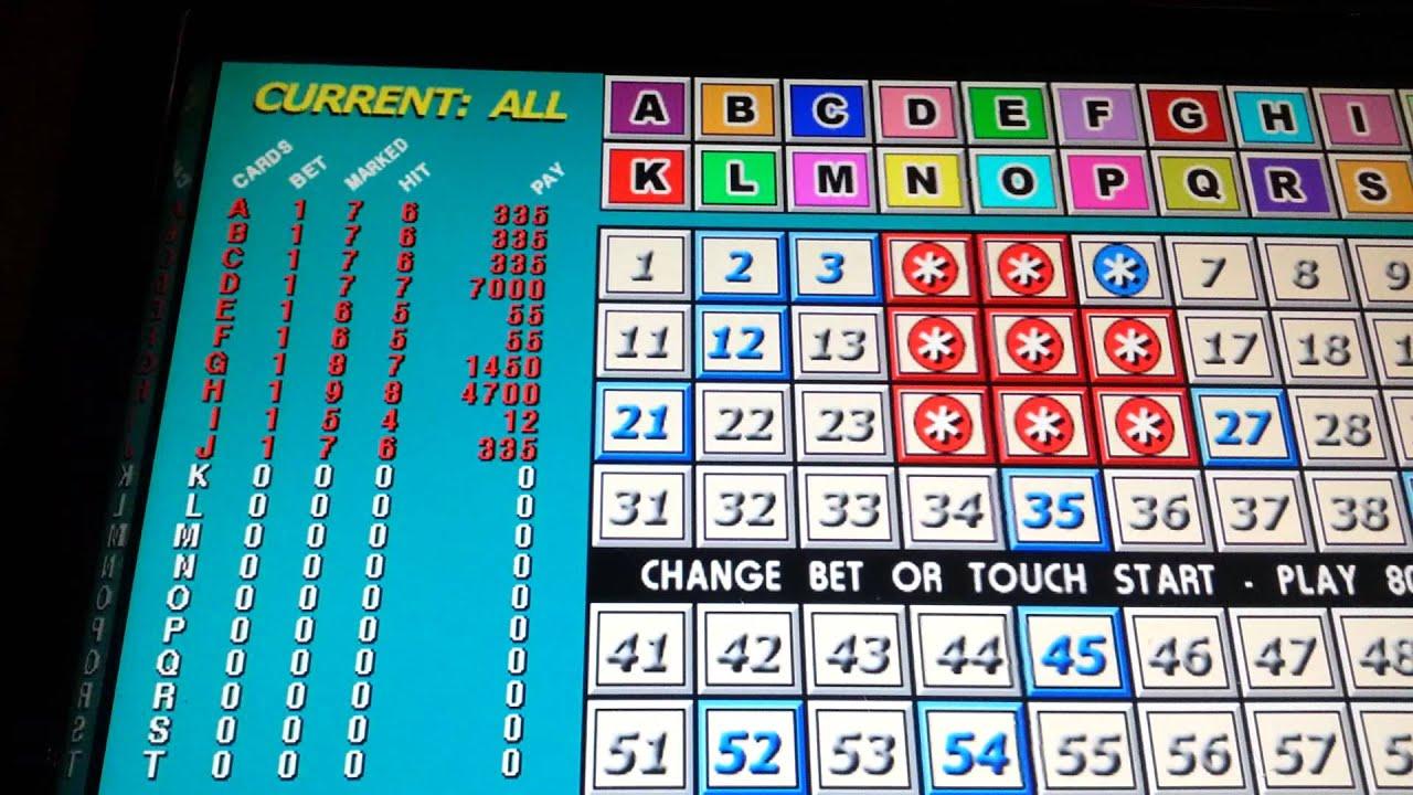 winning 20 card keno strategy video