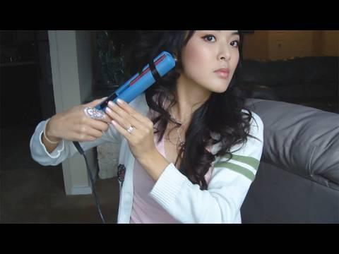 Tutorial: How To Curl Hair with Flat Iron - YouTube
