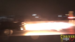 Jet Engine Drag Car Putting In Work