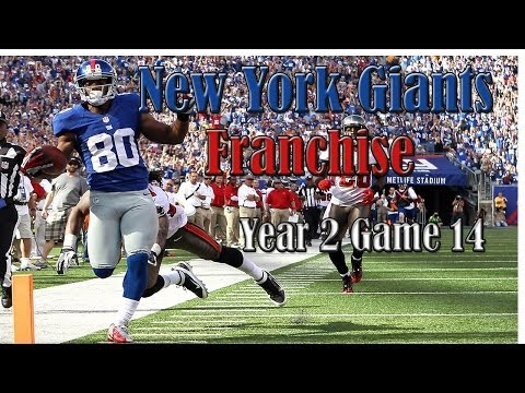 Madden 25 New York Giants Franchise (Y2,G14): Cowboys vs Giants