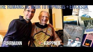 Prof. Stanley Krippner on Milton H. Erickson + Hypnosis