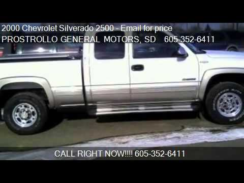 2000 Chevrolet Silverado 2500 LS for sale in Huron, SD 57350
