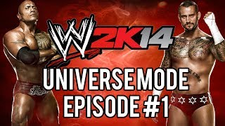 "WWE 2k14 Universe Mode #01: ""The Return"""