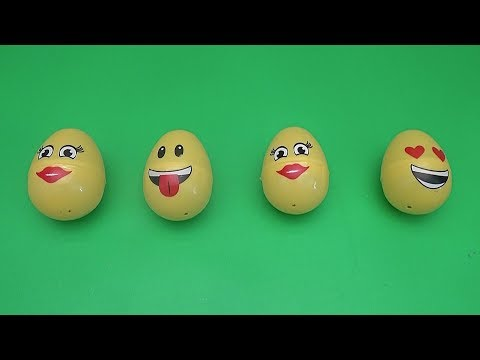 Surprise Matching Game for Kids and Toddlers| Fun Learning Contest | Emoji Surprise Eggs