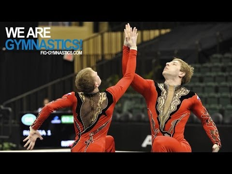 2012 Acrobatic Gymnastics Worlds LAKE BUENA VISTA - Women's & Men's Pair Finals - We are Gymnastics!