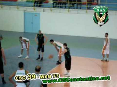 Basketball : CSC 39 - WAB 73