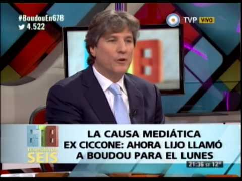 DEBATE CON AMADO BOUDOU - AHORA LIJO LLAMO A BOUDOU PARA EL LUNES - 05-06-14