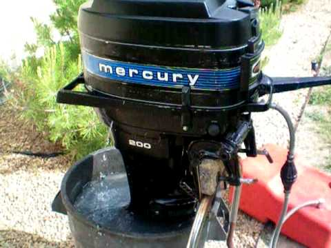 1978 mercury 200 20hp outboard motor youtube. Black Bedroom Furniture Sets. Home Design Ideas