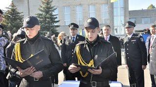 300 першокурсників ХНУВС склали Присягу працівника поліції
