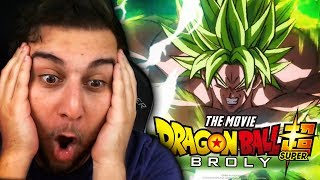 WE DON'T DESERVE THIS MOVIE!!   DRAGON BALL SUPER BROLY FINAL TRAILER REACTION + BREAKDOWN