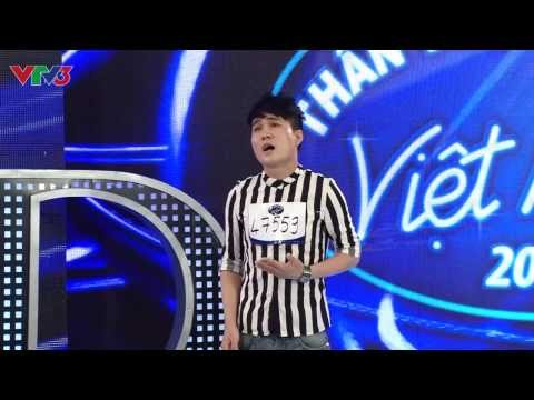 Vietnam Idol 2013 - Quân Kun quỳ xuống xin BGK hát tiếp