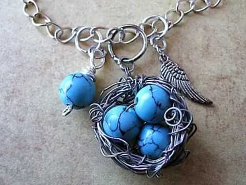 Bird Nest Pendant Tutorial By Jamie Estelle Jewelry