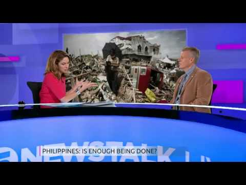 Paul Jenkins: Security will improve in Philippines when aid arrives