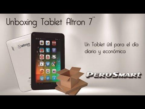 [Peru Smart] [Unboxing] Tablet Altron 7