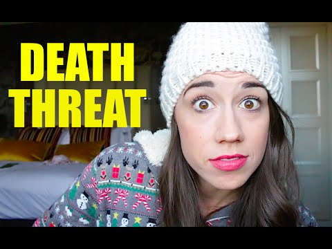 I GOT A DEATH THREAT!