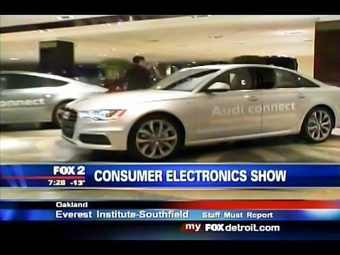 2014 Consumer Electronics Show: dSPACE AutoBox in Audi A7