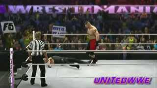 Brock Lesnar Vs Undertaker WWE 2k14