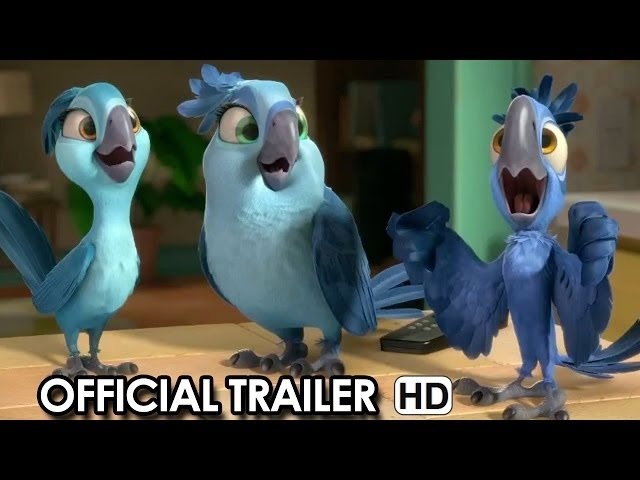 Rio 2 Official Trailer #2 (2014) HD