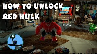 How To Unlock Red Hulk Lego Marvel Super Heroes 1080P HD