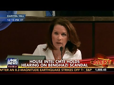 Bachmann Challenges Former Acting CIA Director on Benghazi