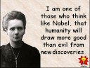 Creative Quotations from Marie Curie for Nov 7