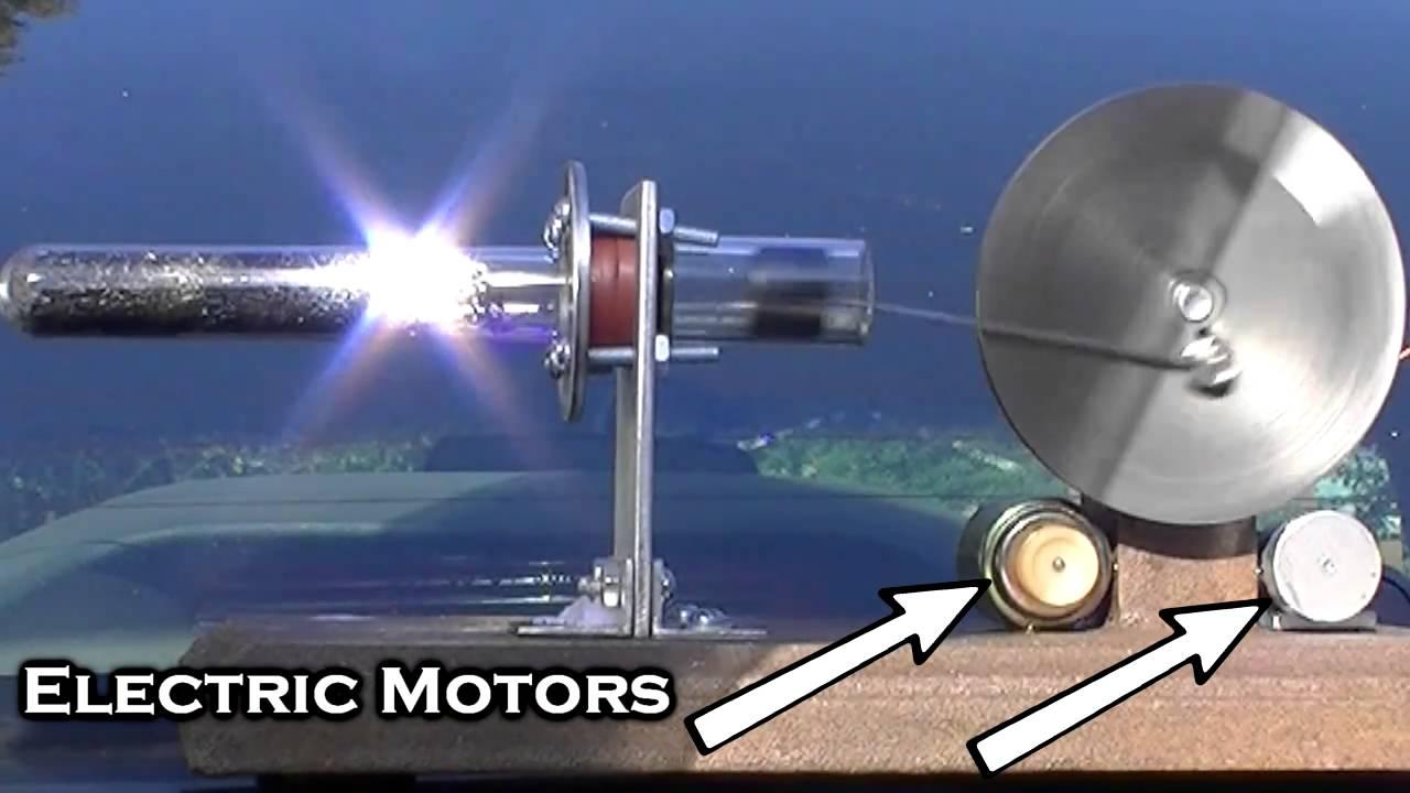 Solar Powered Stirling Like Engine Youtube