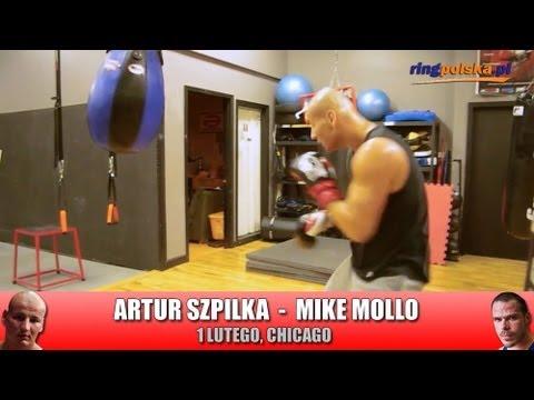 Artur Szpilka - migawka z worka podczas treningu w Chicago