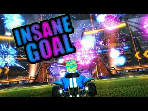 One of my best goals in Rocket League