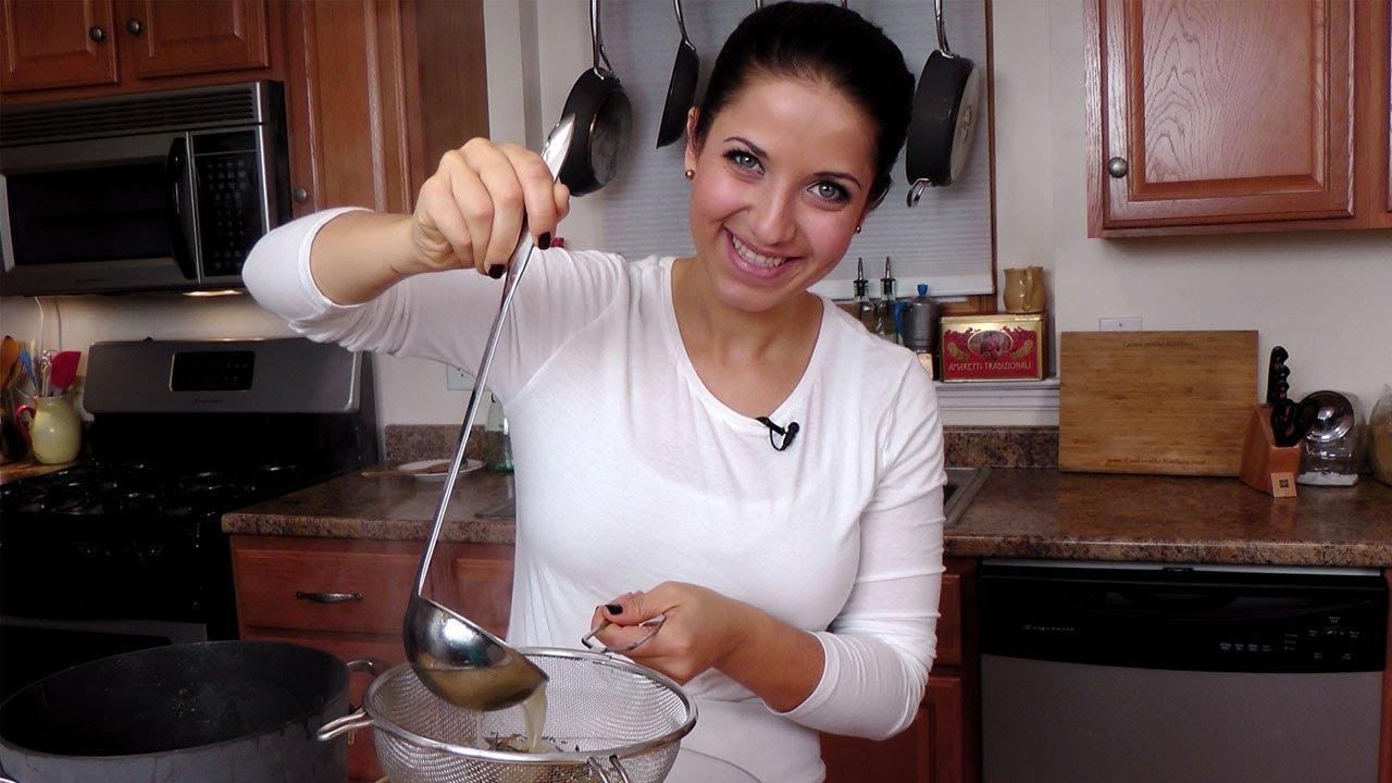 Thanksgiving Leftovers Turkey Stock Recipe Laura Vitale