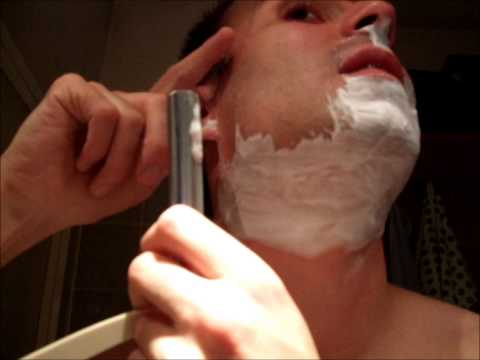 Straight Razor August - Shave 16 / Rasiermesser-August - Rasur 16