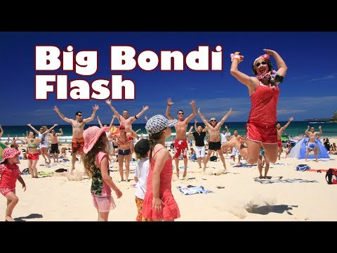 The Big Bondi Beach Flash Mob [ORIGINAL]