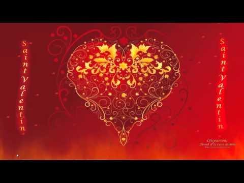 Fond écran animé Saint Valentin 2013