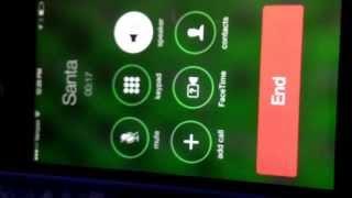 Santa's Real Phone Number