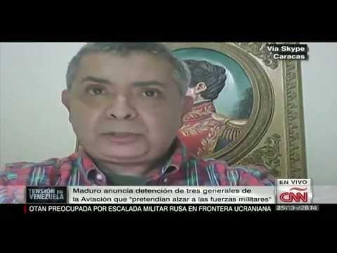 Ángel Vivas dice que es falsa la detención de tres generales en Venezuela