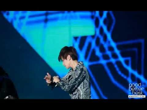 120814 KBS National Concert Mama Baekhyun fancam
