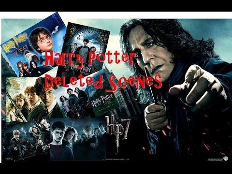 All Deleted Scenes From the Harry Potter Films !!! [HD]