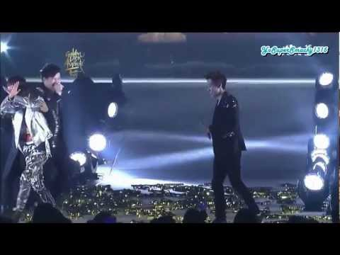 [Eng Sub] 120119 GDA - Disk Daesang + Encore stage (Super Junior)