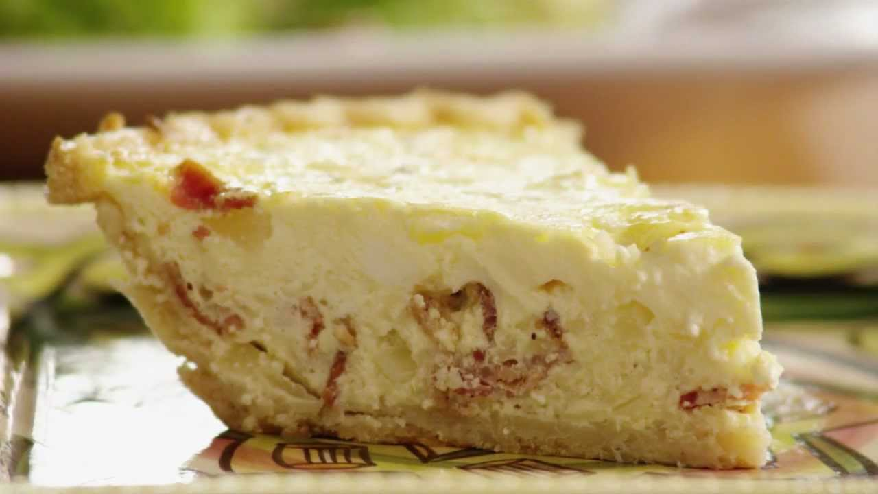 how to make classic quiche lorraine youtube. Black Bedroom Furniture Sets. Home Design Ideas