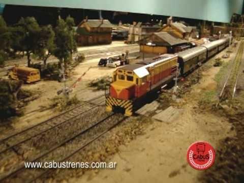 Exposicion maqueta de trenes en Cipolletti