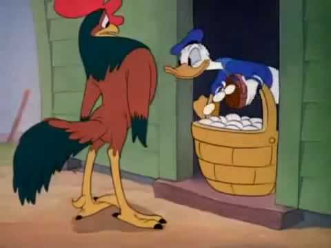 España Walt Disney 'Huevos de Oro' cuentos infantiles(dibujos animados,niños,padres)