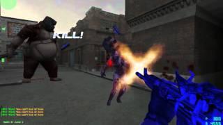 Counter Strike Xtreme V6 Zombie Scenario Gameplay