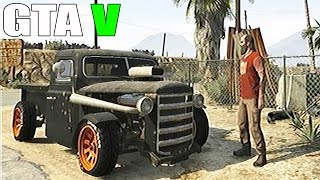 Grand Theft Auto V Gameplay With Rare Car And Off Road