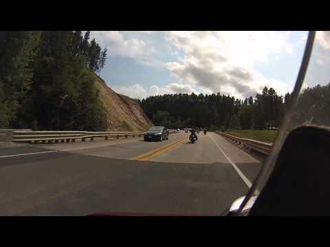Biker Lawer GoPro footgage from Sturgis through Black Hills
