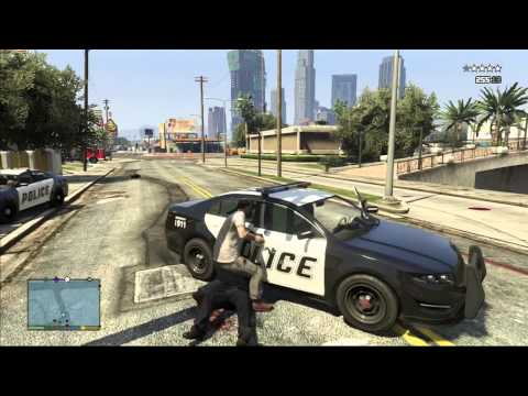 GTA 5 Funny Moments | Trevor Parachutes Down To Shoot Up The Hood - GTA V Funny Moments,