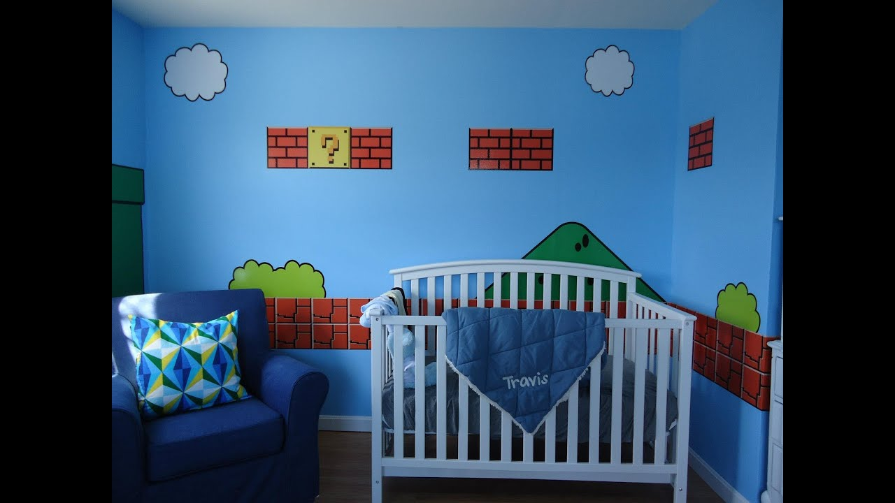 super mario bros bedroom by 401 graphics youtube
