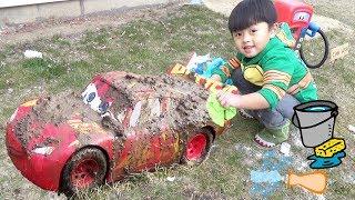 Disney Cars Lightning McQueen Car Wash