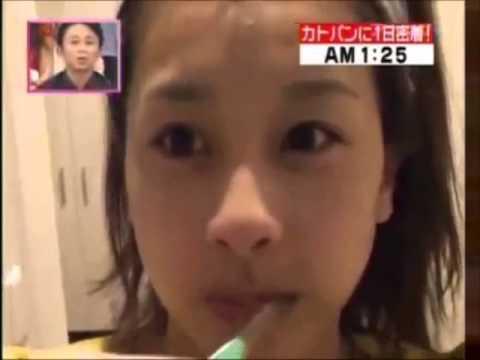 加藤綾子アナ(カトパン)の寝起き 髪型をセットする前です!