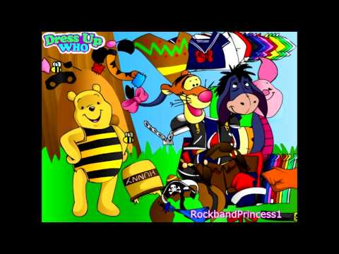 Disney's Winnie The Pooh Dress Up Game