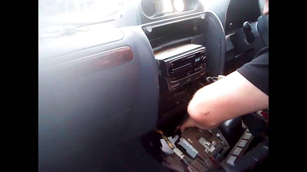 Radio Removal Toyota Land Cruiser 1994 2004